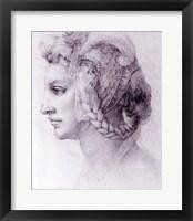 Framed Ideal Head of a Woman, c.1525-28
