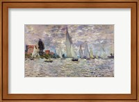 Framed Boats, or Regatta at Argenteuil, c.1874