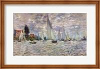 Framed Boats, or Regatta at Argenteuil, c.1874