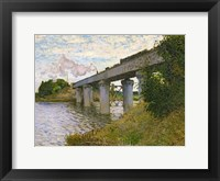 Framed Railway Bridge at Argenteuil, c.1873-4