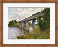 Framed Railway Bridge at Argenteuil, c.1873-4