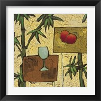 Framed Tropical Repast I