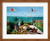 Framed Terrace at Sainte-Adresse, 1867