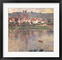 Framed Vetheuil, 1901