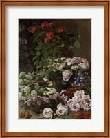 Framed Spring Flowers, 1864