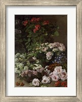 Framed Spring Flowers, 1864