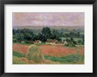 Framed Haystack at Giverny, 1886