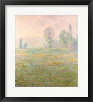 Framed Meadows in Giverny, 1888