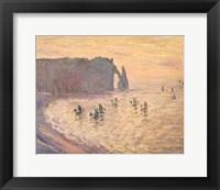 Framed Cliffs at Etretat, 1886