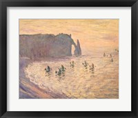 Framed Cliffs at Etretat, 1886