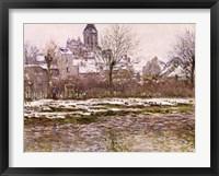 Framed Church at Vetheuil under Snow, 1878-79
