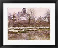 Framed Church at Vetheuil under Snow, 1878-79