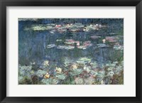 Framed Waterlilies: Green Reflections, 1914-18