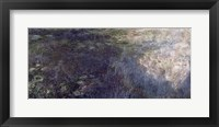 Framed Waterlilies - The Clouds (left section), 1914-18
