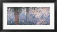 Framed Waterlilies: Morning with Weeping Willows, 1914-18 (right section)