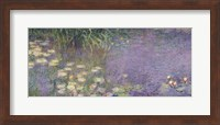 Framed Waterlilies: Morning, 1914-18 (left section)