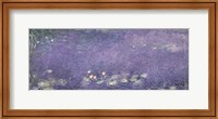 Framed Waterlilies: Morning, 1914-18 (centre left section)