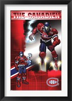 Framed Canadiens® - Guardian 11