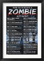 Framed Zombies - How to Survive