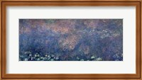 Framed Waterlilies: Two Weeping Willows, centre left section, 1914-18