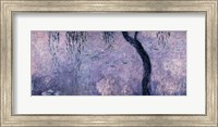 Framed Waterlilies: Two Weeping Willows, right section, 1914-18