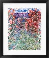 Framed House at Giverny under the Roses, 1925