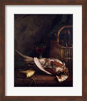 Framed Still Life with a Pheasant, c.1861