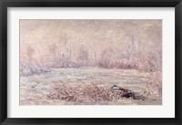 Framed Frost near Vetheuil, 1880