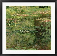 Framed Waterlily Pond, 1904