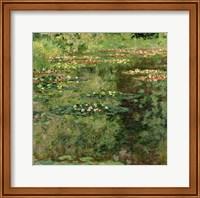 Framed Waterlily Pond, 1904