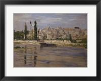 Framed Carrieres-Saint-Denis, 1872