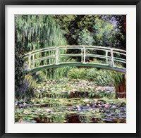 Framed White Waterlilies, 1899