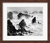 Framed Rocks of Belle-Ile, 1886