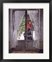 Framed Red Cape (Madame Monet) c.1870
