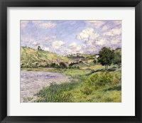 Framed Landscape, Vetheuil, 1879