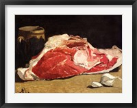 Framed Still Life, the Joint of Meat, 1864