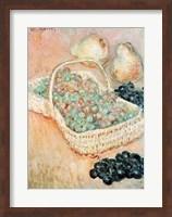 Framed Basket of Grapes, 1884