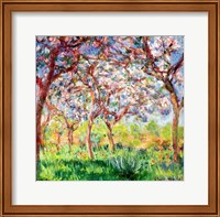 Framed Printemps a Giverny, 1903
