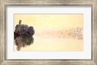 Framed Seine at Port-Villez, Evening Effect, 1894