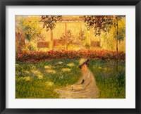 Framed Woman in a Garden, 1876