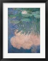 Framed Waterlilies, detail, 1914-17