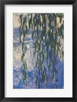 Framed Waterlilies, 1916-19 (Reflection)