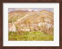 Framed Hamlet on a Cliff near Giverny