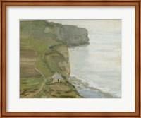 Framed Cap d'Antifer, Etretat