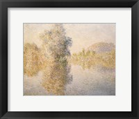 Framed Early Morning on the Seine at Giverny, 1893