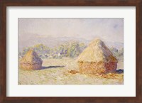 Framed Haystacks, Morning Effect