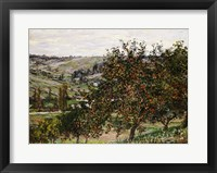 Framed Apple Trees near Vetheuil