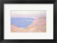 Framed On the Cliffs near Dieppe, Sunset, 1897