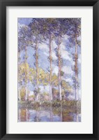 Framed Poplars, 1881
