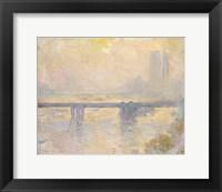 Framed Charing Cross Bridge, 1903